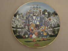 Disneyland'S 40Th Anniversary #3 collector plate It'S A Small World Disney