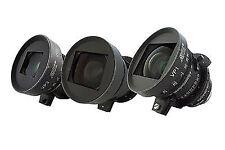 Zeiss Variable Prime PL Mount 3 Lens Set T2.2 16-30mm, 29-60mm & 55-105mm