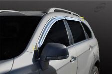 SAFE Chrome weather shields 4p for 06/2006 ~ 2016 Holden Captiva 7 Series I & II
