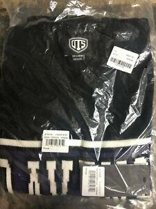 (XXL) BALTIMORE RAVENS JET BLACK Sleeveless Sweater Vest OTS NFL Lamar Jackson