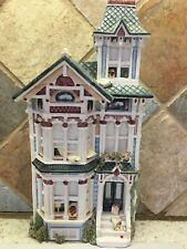 Brian Baker~Victorian Tower House~De jaVu Collection~Certificate Of Authenticity