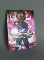 Dragon Ball Super Cards Vile Strike Dark Prince Vegeta P-025 NM Special Promo