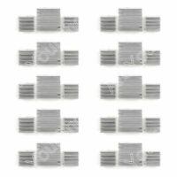 10Set 30Pi¨¨ce Aluminum Heatsink Cooler Kit Pour Refroidissement Raspberry Pi A