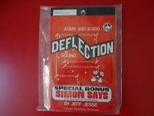 Deflection by Adventure International For Atari 400/800 8K Cassette. Rare!