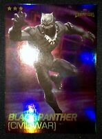 Marvel Contest Of Champions Dave And Busters Cards- BLACK PANTHER FOIL