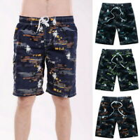 Men Summer Designer Cool Beach Shorts Casual Surfing Board Pant  Pants #@