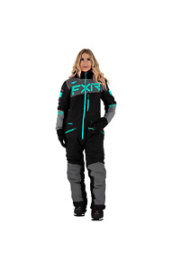 FXR woman's Squadron snowmobile/snow bike mono-suit