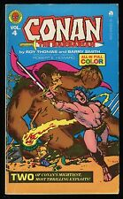 Conan The Barbarian Vol 4 Marvel Comics Paperback PB Barry Windsor-Smith art REH