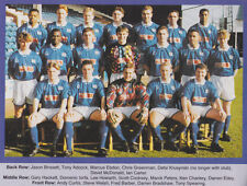 PETERBOROUGH UNITED FOOTBALL TEAM PHOTO>1993-94 SEASON