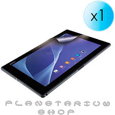 1x SHEET PROTECTOR SCREEN TRANSPARENT FOR SONY XPERIA Z2 TABLET SGP521