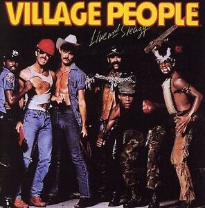 "Used CD - Village People ""Live and Sleazy""  11 songs"
