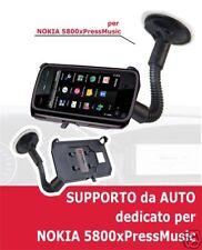 Supporto da auto dedicato A VENTOSA ROTAZIONE 360° per NOKIA 5230 xPressMusic