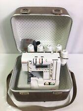 ELNA Lock Pro 5 DC Electronic Overlock Serger Sewing Machine Foot Ped/Case #7246