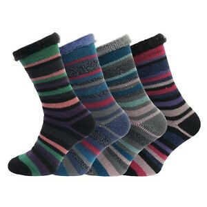 Womens Heat Machine Brushed 2.3 Tog Thick Warm Thermal Socks UK 4-8 EU 37-42