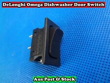 DeLonghi Omega Dishwasher Spare Part Rocker Type Door Switch (D222) Brand New
