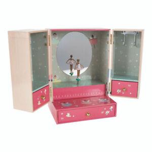 Enchanted Musical Wardrobe Jewellery Box fun happy fun girl birthday new gift