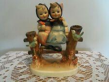 Sweet Vintage M J Hummel Goebel Coquettes #179 Figurine W Germany 4-3/4 Ins Tall