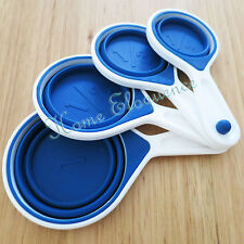 Silicone Colapsable Measuring Cups Baking Cupcakes Cooking Macarons Measure Food