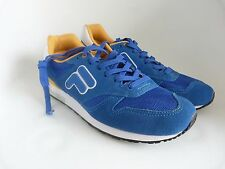 NWOT FILA F-Star 80  Retro Sneakers Running Shoes Blue Yellow US Sz 8 1UBF