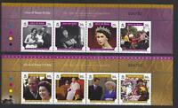 ISLA DE MAN 2006 , 80 cumpleaños Reina Elizabeth II Nuevo sin montar, MNH Juego