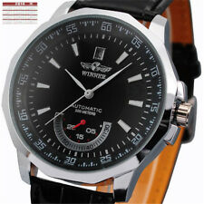 Winner Automatik Uhr Herren Uhr Mechanische Uhr Herrenuhr Leder Armband Uhr