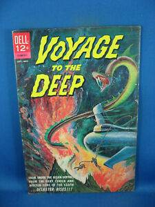 VOYAGE TO THE DEEP 1 F+ PAINTED CVR 1962