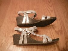 Teva Ventura Cork 2 Rialto (Ysidro) Women's Wedge Sandals Gold Sz 7M