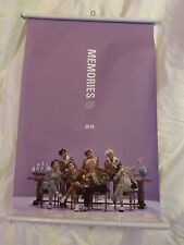 BTS Official Wall Scroll Poster Memories of 2018 Preorder Poster
