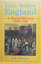 Early Modern England: A Social History, 1550-1760 By J.A. Sharpe