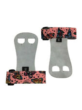 Push Athletic Gymnastics Youth Hand Grips (Pink Butterfly, X-Large)
