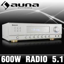 PROFI SURROUND PA AMPLIFIER 5.1 HOME CINEMA SOUND RECEIVER RADIO TUNER DISPLAY