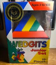 WEDGITS BUILDING BLOCKS JUNIOR  SET OF 15 PIECES BY IMAGABILITY INC.