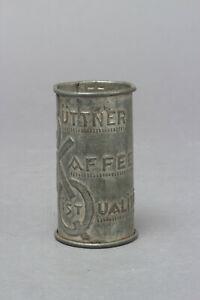 Kaffeelot Hamburg Büttner Qualität Blech um 1910/1920