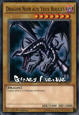Yu Gi Oh! Dragon Black Aux Eyes Red MIL1-FR027 (MIL1-EN027) French
