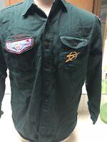 1950's Explorer Shirt W/Denver & Tahosa 383 F3 Patches