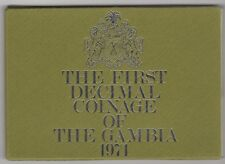 1971 The First Decimal Coinage Of The Gambia | Coin Sets | Pennies2Pounds
