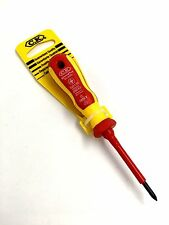 C.K TOOLS  PZ0 X 60MM SENSOPLUS POZI VDE SCREWDRIVER 49043