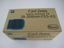 New Boxed Carl Zeiss Vario-Sonnar T* 70-200mm F3.5-4.5 Lens