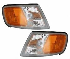 New Pair Left and Right Corner Lights Turn Signal Lamps Fits Honda Accord 94-97