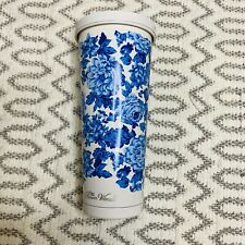 NWT Pioneer Woman White and Blue Floral Tumbler
