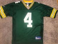 Reebok Green Bay Packers Brett Favre #4 NFL Football Jersey Men's SZ M On Field
