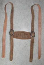 lange Leder- HOSENTRÄGER zur Trachten- LEDERHOSE / Trachtenhose in khaki- braun