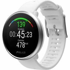 Polar Ignite GPS Fitness Watch With Wrist-Based Heart Rate Monitor White M/L