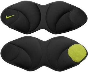 Nike Ankle training fitness PAIR Weights 5lbs (10lbs) sweat-wicking Yoga Gym