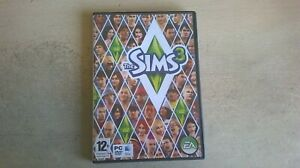 THE SIMS 3 - BASE PC & MAC GAME - ORIGINAL & COMPLETE WITH MANUAL & KEY CARD
