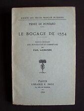 Le bocage de 1554