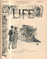 1892 Life July 7 - Hill is rejected in chicago; Collie dog; Leap Year; Suffrage
