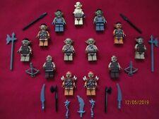 LEGO LOTR Minifigures Lot.Azog,Moria Orcs,Goblins,Gundabad Orcs, Weapons
