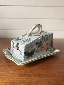 Antique Royal Winton Grimwades Lidded Cheese/Butter Dish Circa 1906 England