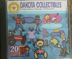 Dakota Collectibles Embroidery Design Collection 'Little Sticklers'